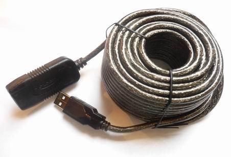 usb 2 0 kabel verl ngerung 10m aktives verl ngerungskabel. Black Bedroom Furniture Sets. Home Design Ideas